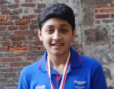 Armaan Gala wins gold in Italy