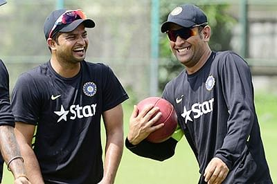 Dhoni & Co gear up for ODIs