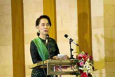 EU Parliament suspends Aung San Suu Kyi from Sakharov Prize community