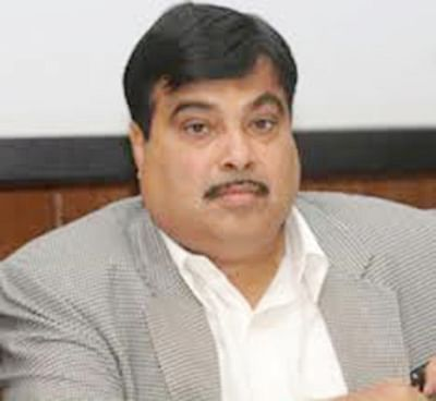 Narrow escape for Gadkari, red carpet gets entangled  in helicopter's blades