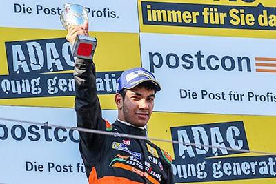 Jehan bags Maiden Formula Car Podium