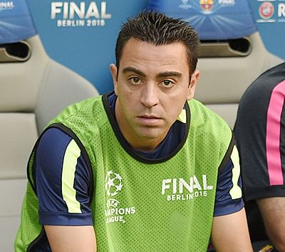 Leaving Barca  'brutal' for Xavi