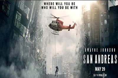 San Andreas tops International box office with USD 97.8M in bag