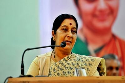 Sushma Swaraj woos US industry to invest in India for win-win outcome