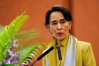 Suu Kyi concerned at Myanmar ruling party putsch