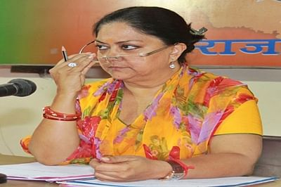 Vasundhara Raje cancels UK visit