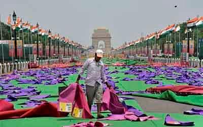 Delhi wears a 'Yoga' look