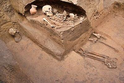 Tomb below UK supermarket