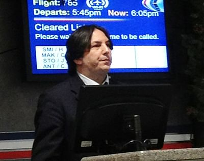 'Harry Potter's' Professor Snape is  alive, works for American Airlines