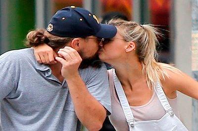 Leonardo DiCaprio, Kelly Rohrbach spotted kissing