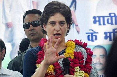 Loyalist recalls Indira's Priyanka wish