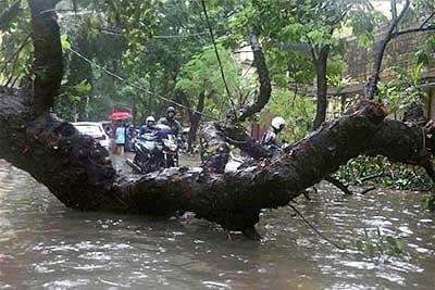 Seventeen killed in storms, rain in Uttar Pradesh