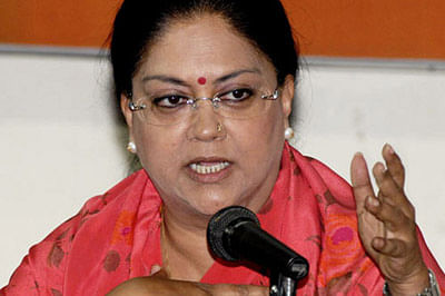 Cong alleges 'biggest' mines scam in Raj; seeks Raje's ouster