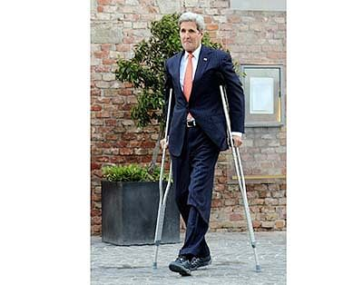 With Iran dragging its feet,  Kerry warns of quitting talks