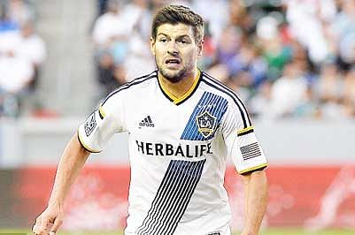 Steven Gerrard scores in Los Angeles Galaxy debut