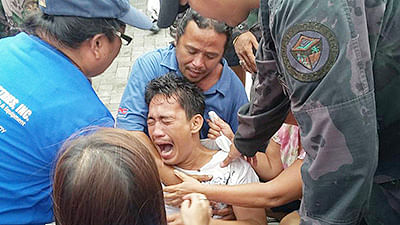 At least 35 dead after ferry capsizes in Philippines