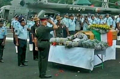 Mortal remains of Kalam flown to Rameswaram