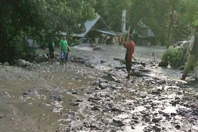Uttarakhand cloudburst: Chamoli's Jakhni village turns a picture of destruction