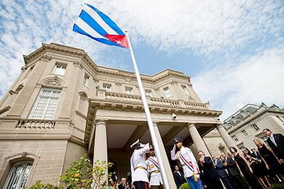 US, Cuba formally restore full diplomatic ties after 5 decades