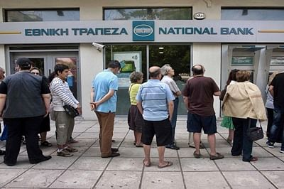 Greek banks shut till Thursday