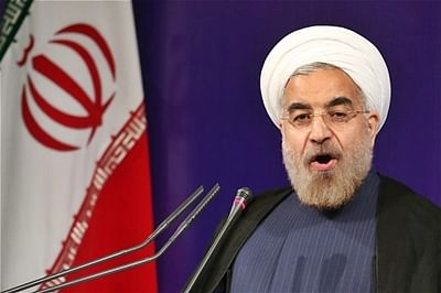 Iran's Hassan Rouhani says Syrian regime must not be weakened
