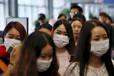 Mandatory coronavirus screening at airport arrivals from high-risk areas in China