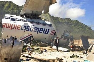 New footage emerges of crashed Malaysia Airlines flight