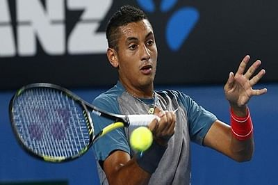 Nick Kyrgios says he apologized to Wawrinka soon after match
