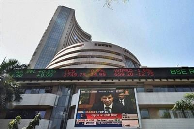 Sensex logs first rise in five sessions on earnings lift