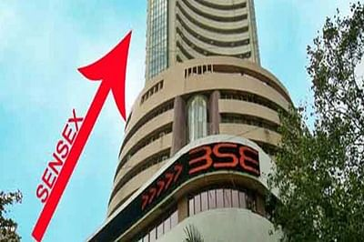 Sensex gets cracking again, jumps 217 pts on global cues
