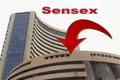 Sensex provisionally closes 235 points down