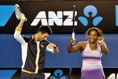Djokovic, Serena walk away with top honours at Sports awards