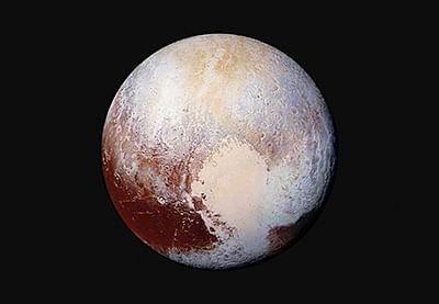 Flowing ice on Pluto a sign of past life?