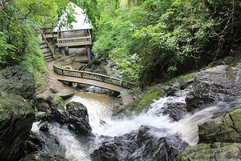 Ngaloi Falls at Churachandpur<br />Picture credits: e-paonet