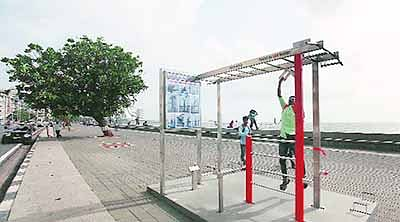 Sena flexing muscle over Marine Drive gym: NCP
