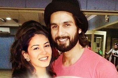 Parents to be Shahid, Mira goes for long drive
