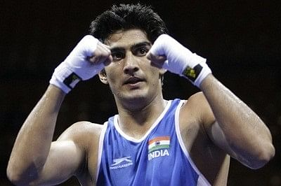 Ruthless Vijender knocks out Dean Gillen in first round