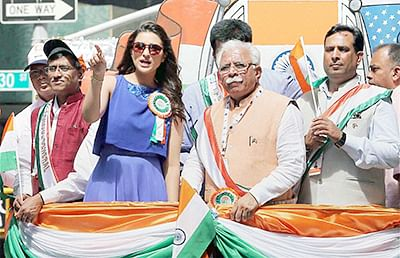 Biggest-ever India Day Parade in New York