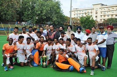 AI down Army XI to win Guru Tegh Bahadur title