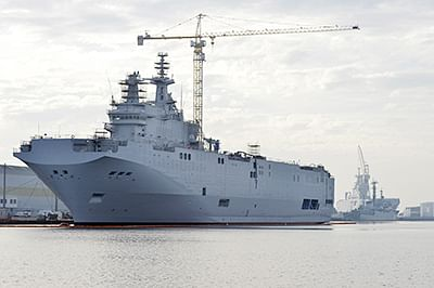 France, Russia reach deal over Mistral warships
