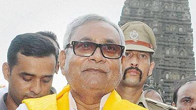 Bihar Chief Minister Nitish Kumar .