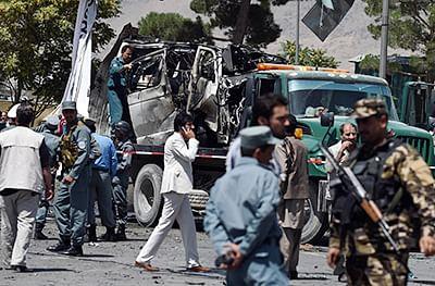Afghan president blames Pakistan for recent Kabul attacks