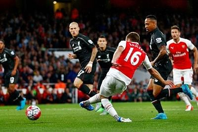 Arsenal and Liverpool play 0-0 draw in EPL