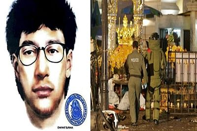 Thai police releases sketch of suspected 'foreign' bomber