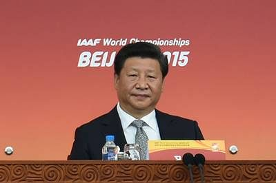 Chinese President Xi Jinping opens Athletics Worlds