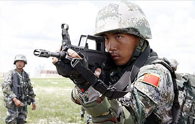 China's PLA holds high altitude drill in Tibet