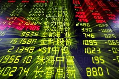 Chinese shares open low