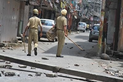 Quota row: Curfew lifted in 3 areas, Army flag march continues