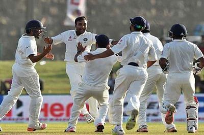India beat Sri Lanka by 278 runs, level Test series 1-1