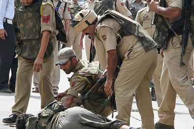 NIA brings captured Pakistani terrorist to Kashmir